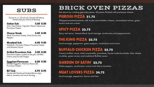 Pizza Italian Digital Menu Board