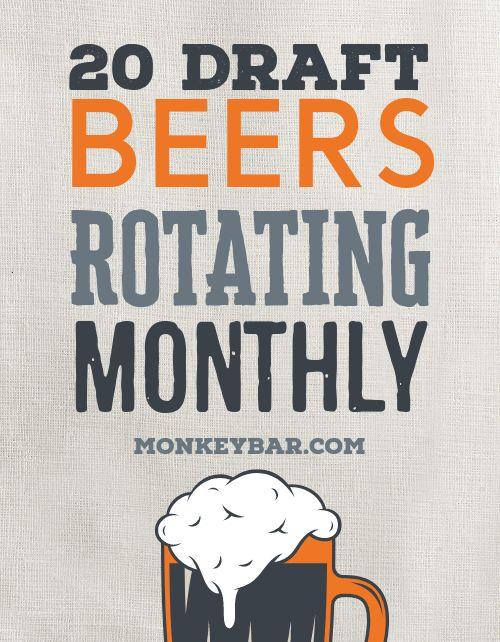 Draft Beer Flyer
