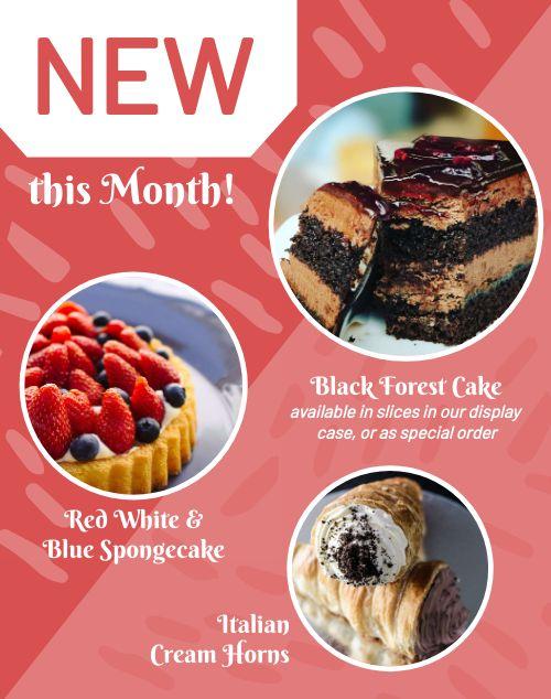 Dessert Bakery Poster