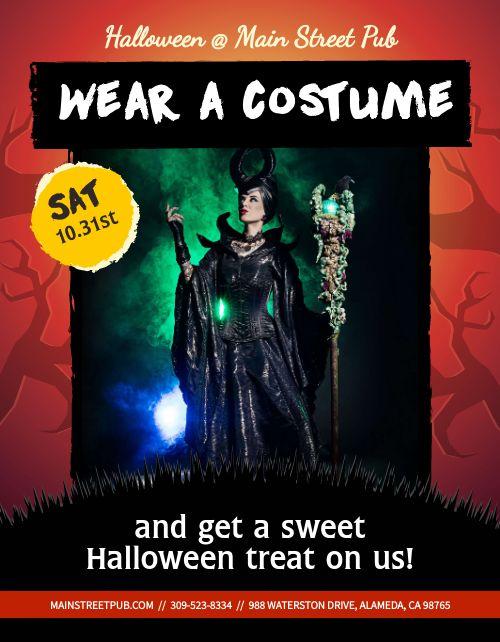 Halloween Costume Announcement
