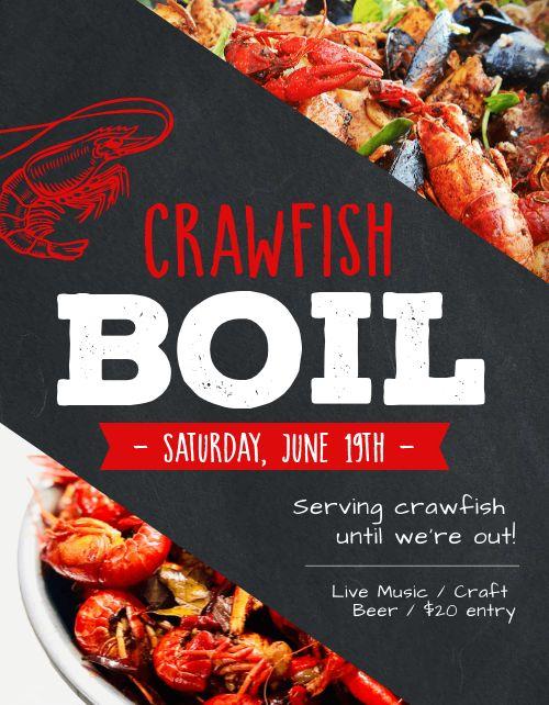 Crawfish Boil Sign