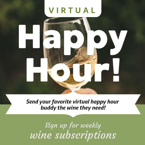Virtual Happy Hour Instagram Post