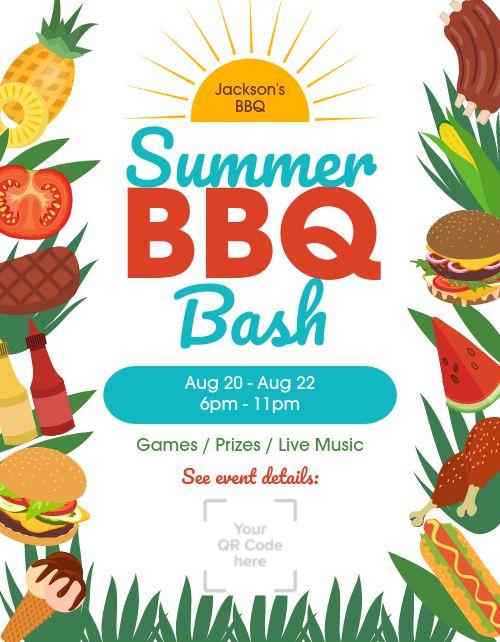 Summer BBQ Announcement