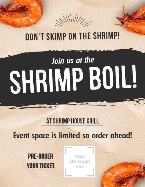 Shrimp Boil Flyer