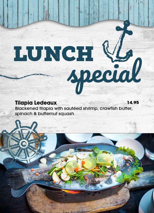 Dockside Seafood Tabletop Insert