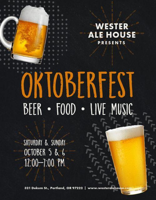 Happy Oktoberfest Flyer