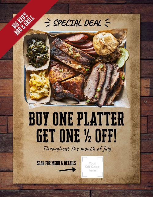 BBQ Special Flyer