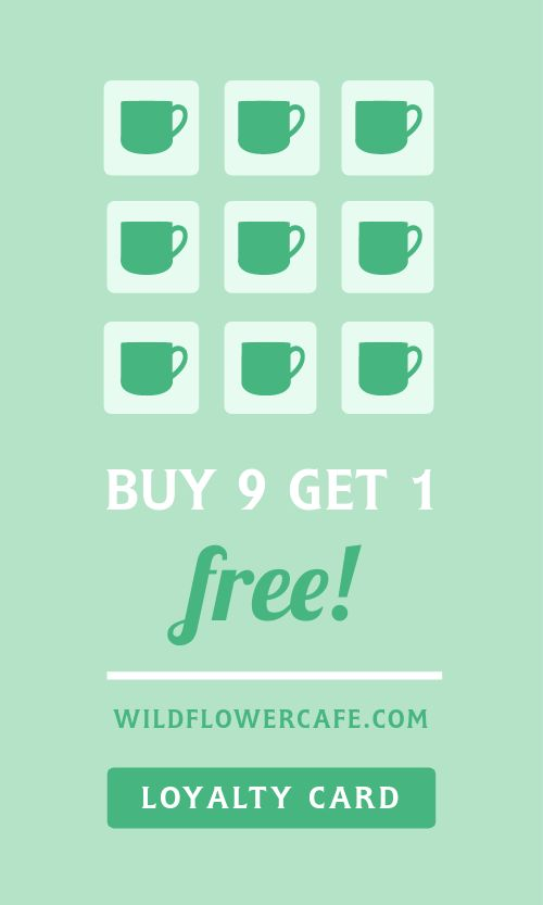 Green Punch Card
