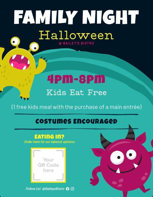Halloween Family Flyer