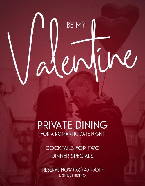 Be My Valentine Flyer
