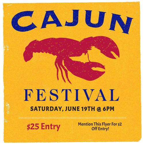 Cajun Festival Instagram Post