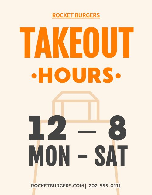Takeout Times Flyer