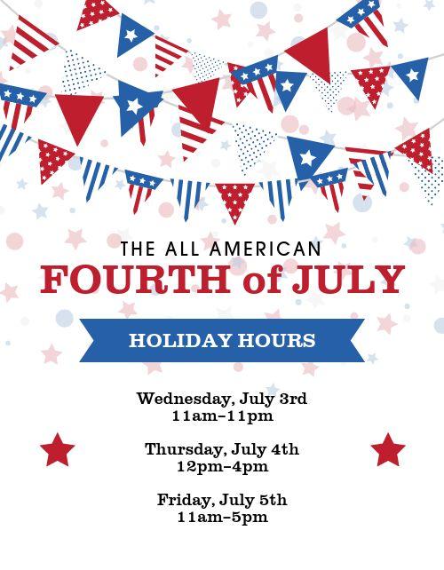 July Fourth USA Flyer