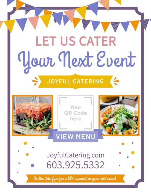 Event Catering Sign
