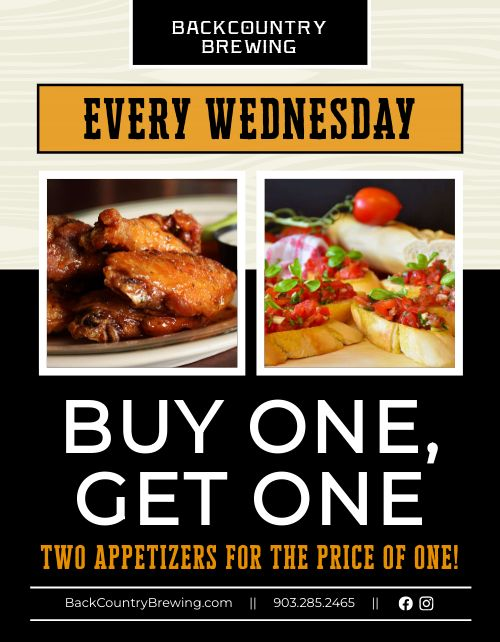Buy One Get One Flyer