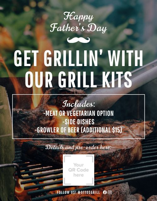 Fathers Day Grill Kits Flyer