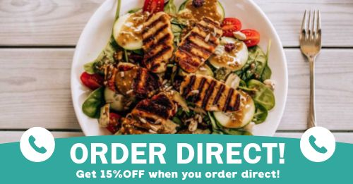 Order Direct Info Facebook Post