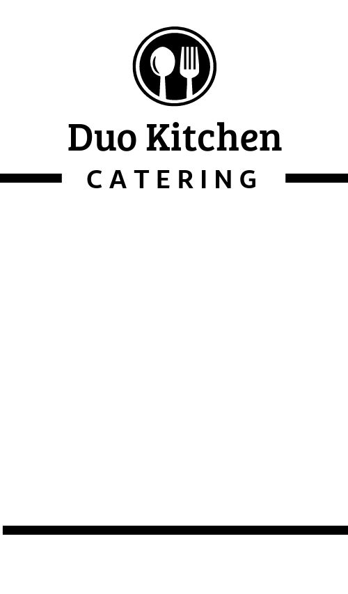 Catering Product Label