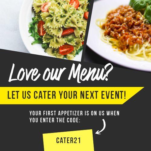 Restaurant Catering IG Post