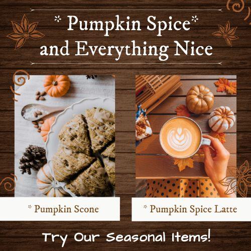 Pumpkin Specials Instagram Post