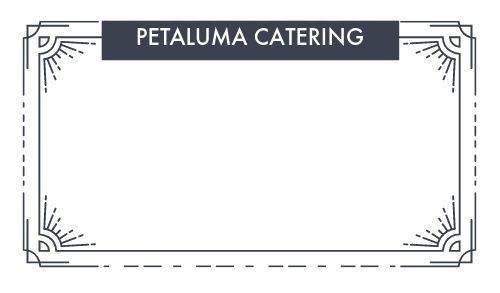 Food Catering Label