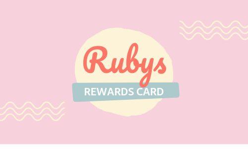 Cafe Rewards Card