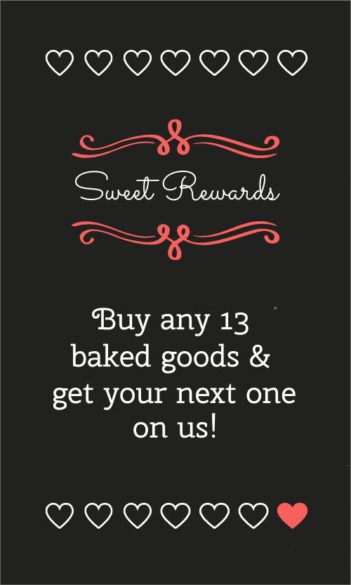 Bakery Rewards Card