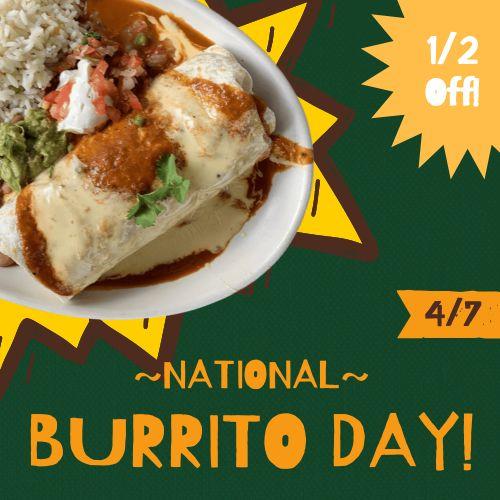 Burrito Instagram Post