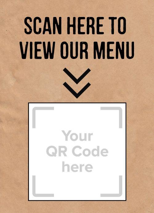 QR Code Scanner Tabletop Insert