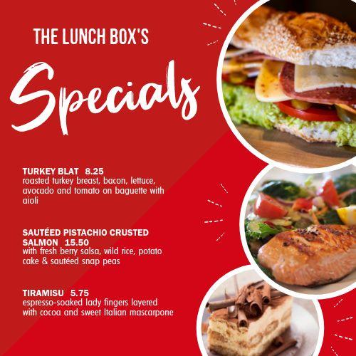 Lunch Specials Instagram Post