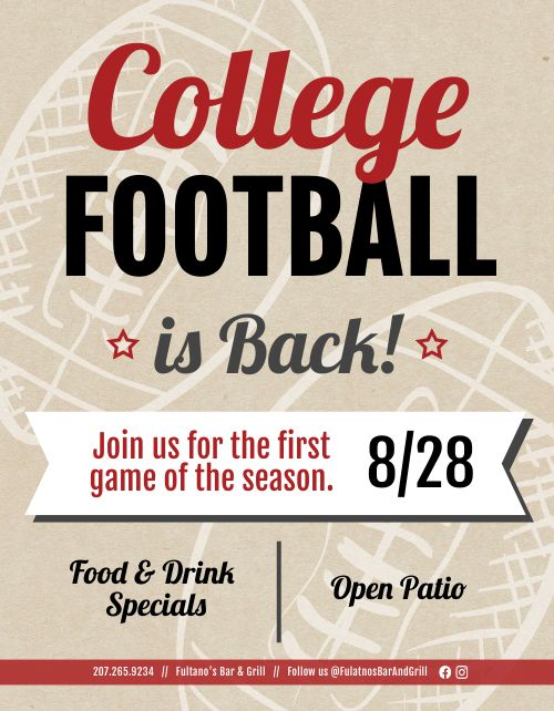 College Football Announcement