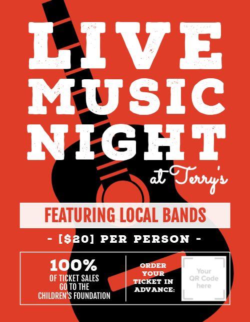Music Night Event Flyer