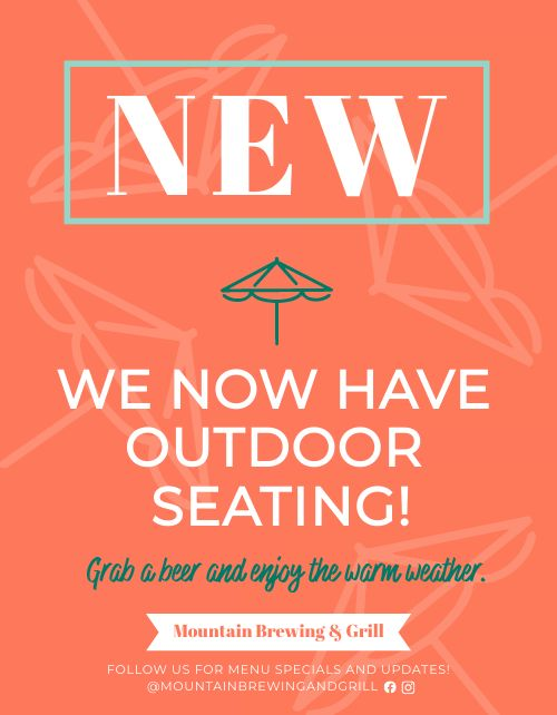 Outdoor Seating Promo