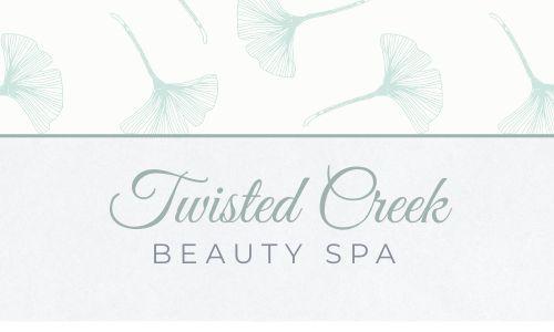 Elegant Spa Business Card