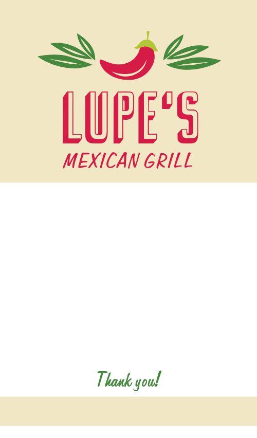 Logo Food Label