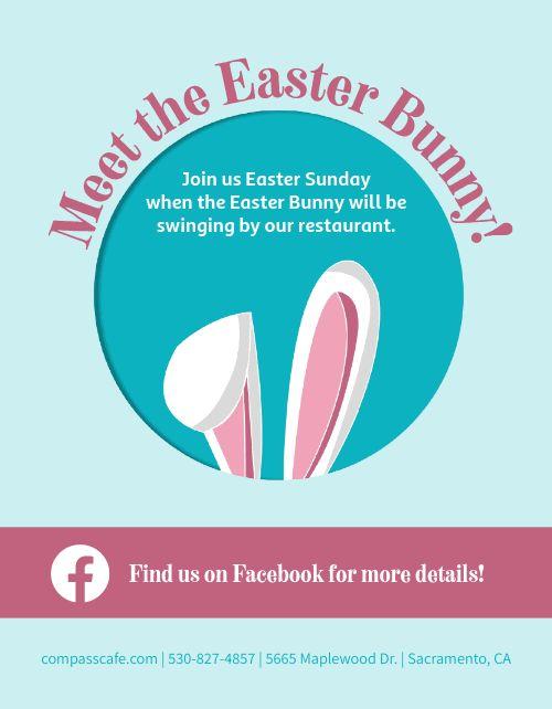 Easter Bunny Flyer