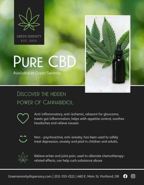 CBD Flyer