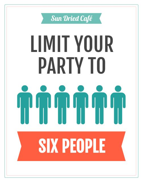 Limited Party Poster