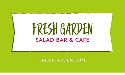 Garden Salad Loyalty Card