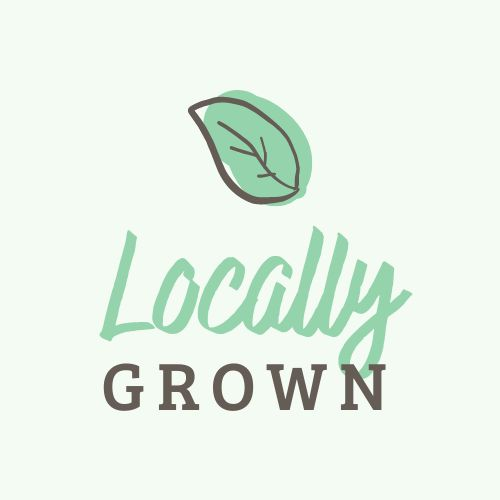 Locally Grown Product Sticker