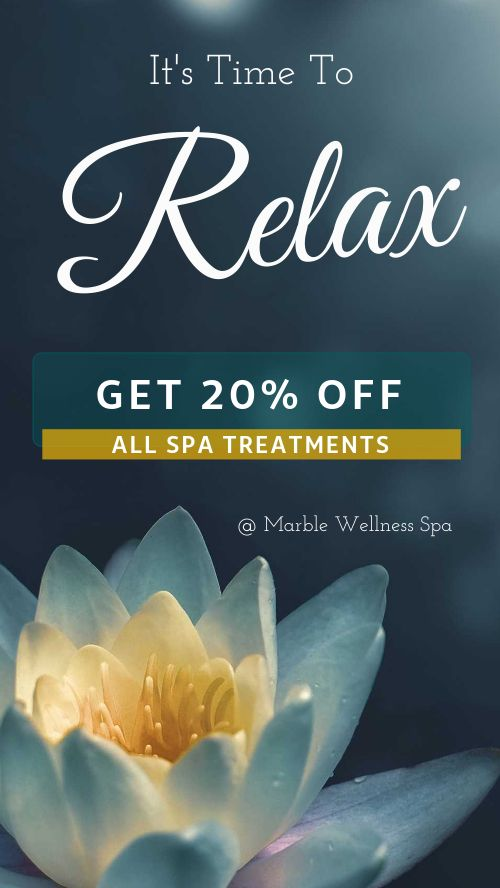 Spa Discount Facebook Story