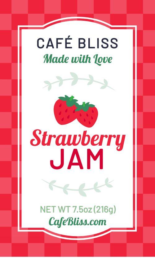 Cafe Jam Label