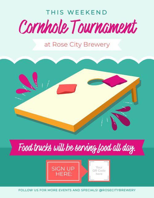 Bar Tournament Flyer