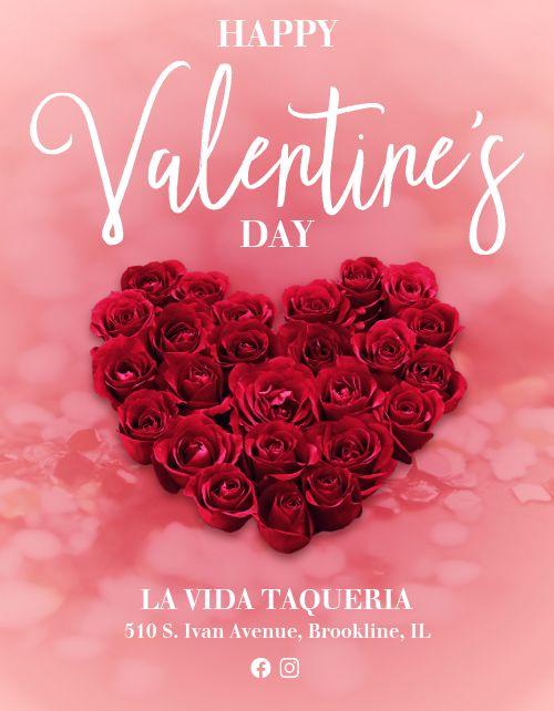 Happy Valentines Flyer