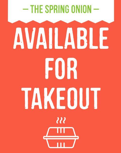 Takeout Restaurant Sandwich Board