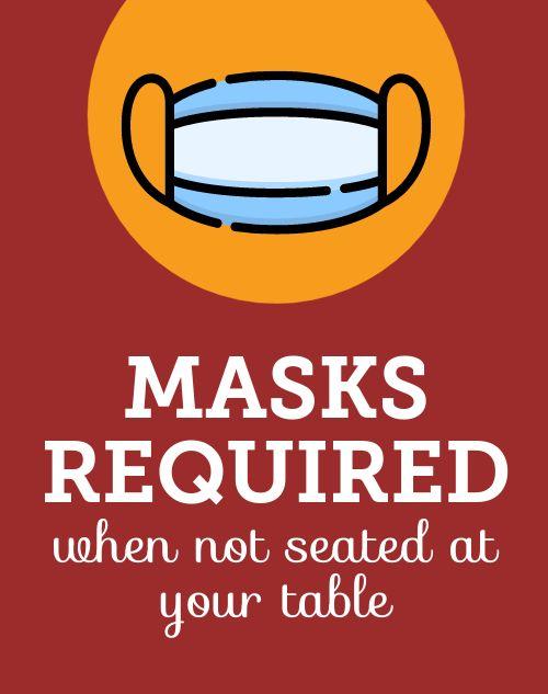 Mask Required Sandwich Board