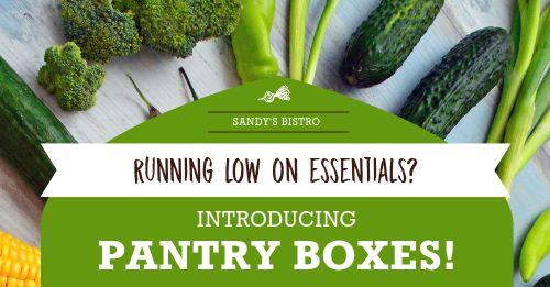 Vegetable Box Facebook Post