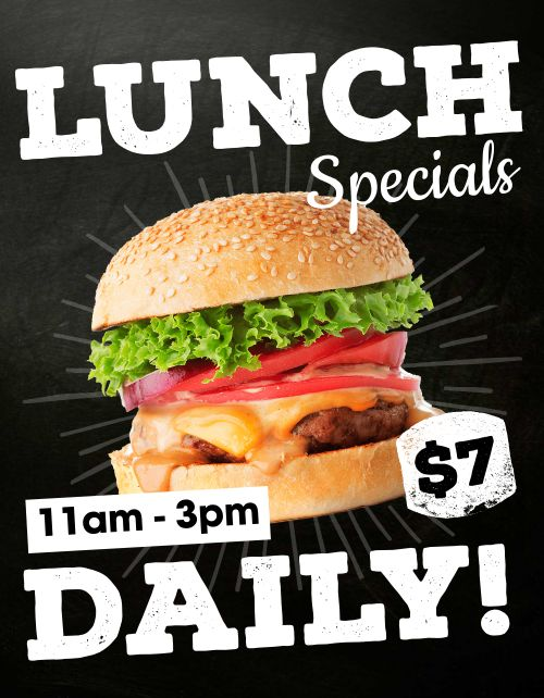 Lunch Specials Sign
