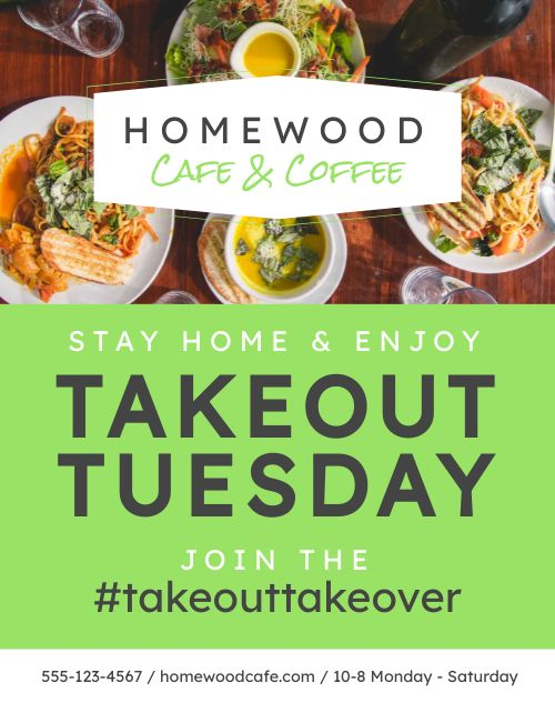 Takeout Tuesday Flyer