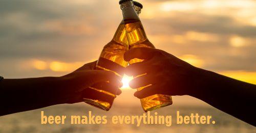 Beer Is Better Facebook Post